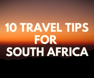 South Africa Travel Advice