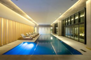 Indoor Pool at the Houghton
