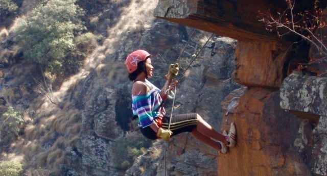 Abseiling in Hartbeespoort