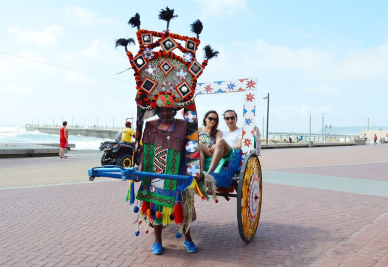 Best things to do in durban, Rickshaw ride