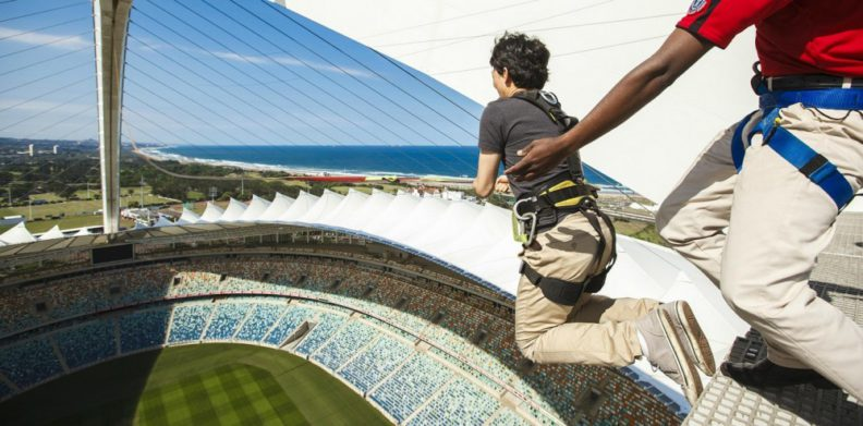 Things To Do In Durban - Big Rush Urban Adrenaline at Moses Mabhida Stadium